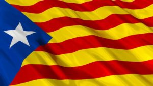 Catalonia flag of independence